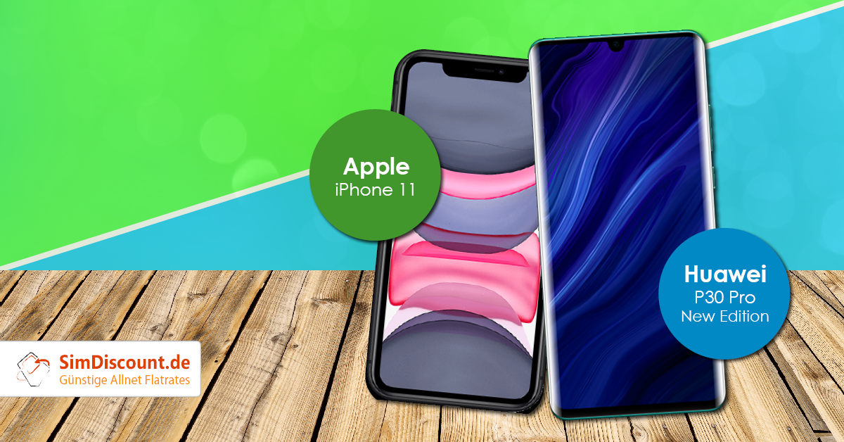 Apple iPhone 11 vs. Huawei P30 Pro New Edition